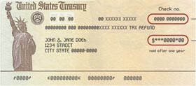 Image of Treasury Check